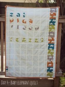 Baby Elephant Quilt