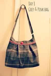 Grey & Pink Bag