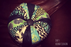Round Pouffe Cushion