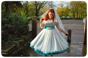 Wedding dress copyright N Rodgers